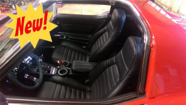 MrMikes Corvette Seat Upholstery
